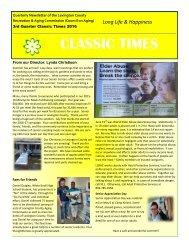 CT Newsletter 3rd quarter 2016 revised