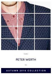 Peter Werth AW16 Lookbook