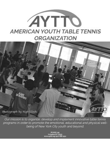 American Youth Table Tennis Organization