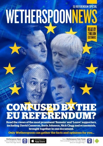 CONFUSED BY THE EU REFERENDUM?