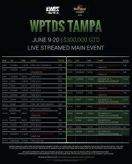 JUNE 9-20   $300,000 GTD LIVE STREAMED MAIN EVENT
