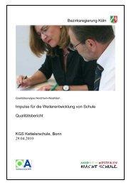 Bezirksregierung Köln Impulse für die Weiterentwicklung von Schule ...