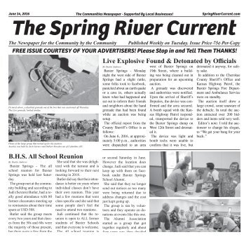 Spring River Current Issue #3, June 14th, 2016