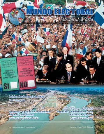 Mayo 2016 ∙ Revista Mundo Electoral 1