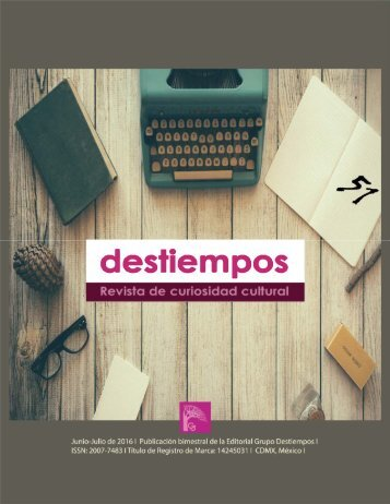 Revista Destiempos 51