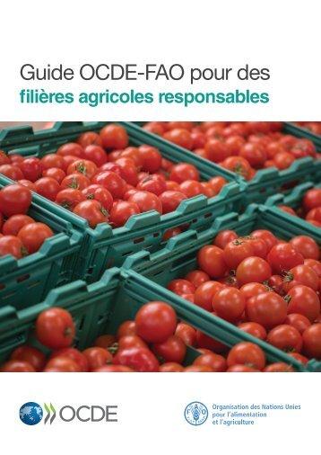 Guide OCDE-FAO pour des