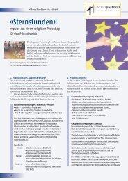Sternstunden im Advent – Impulse 2007, Heft 4
