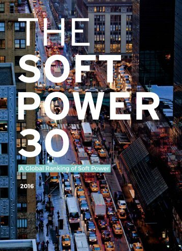 A Global Ranking of Soft Power 2016