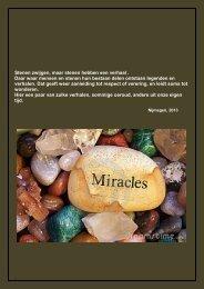 Stenen zwijgen, maar stenen hebben een verhaal ... - Blik op Oneindig (1)