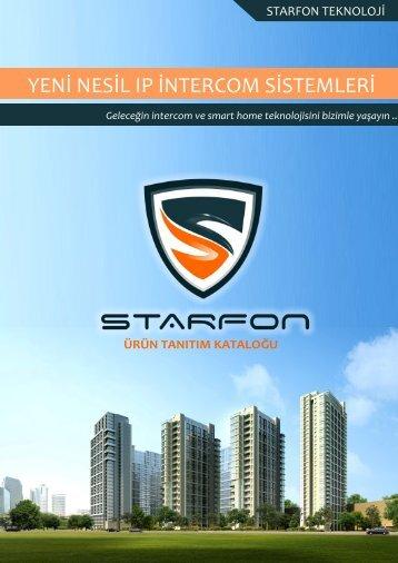 Starfon ürün tanıtım kataloğu