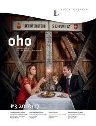 oho #3 - The magazine of the Principality of Liechtenstein
