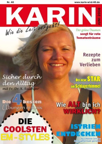 Zeitung Karin 40er