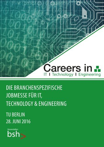 Messekatalog Careers in