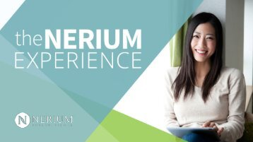 Why Nerium?