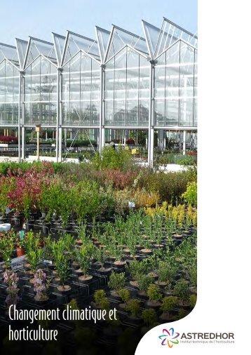 Changement climatique et horticulture