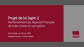 Projet de loi Sapin 2