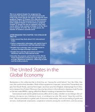 The United States in the Global Economy