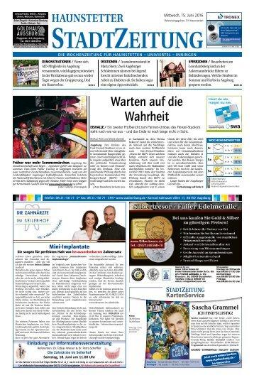 114 Augsburg - Haunstetten 15.06.2016