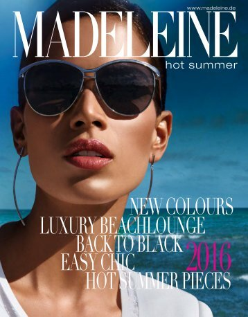 Madeleine Hot Summer 2016. Заказ одежды на сайте www.catalogi.ru или по тел. +74955404949