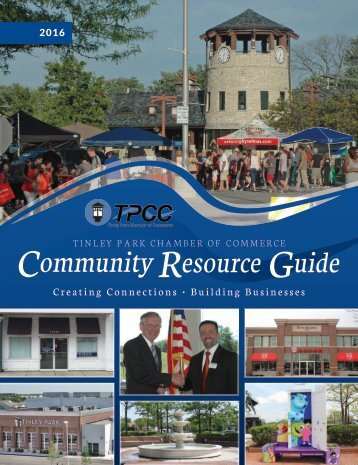 Tinley Park Chamber Guide 2016