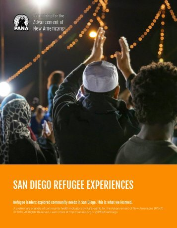 SAN DIEGO REFUGEE EXPERIENCES