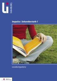 Impulse: Sekundarstufe l Lesekompetenz - Landesinstitut für ...