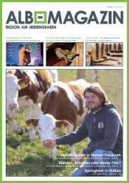 Albmagazin - Ausgabe Heidengraben 1- 2016