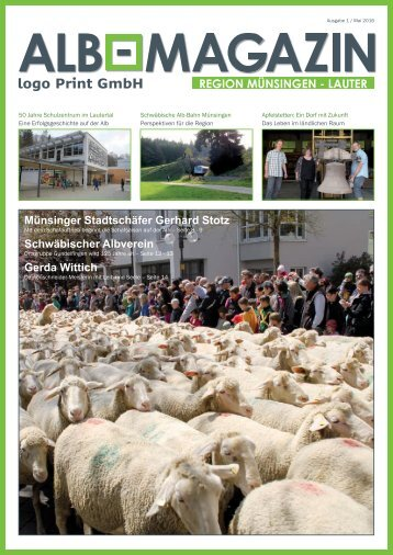 Alb Magazin - Ausgabe Münsingen Lauter 1/2016
