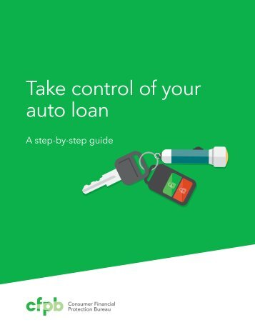 Take control of your auto loan