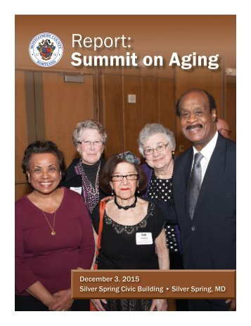 Report Summit on Aging