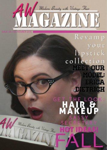 AW Magazine November Edition 2015