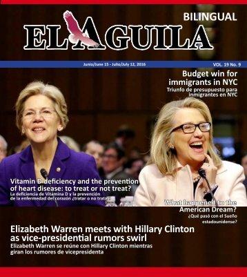 El Aguila Magazine – June 15, 2016
