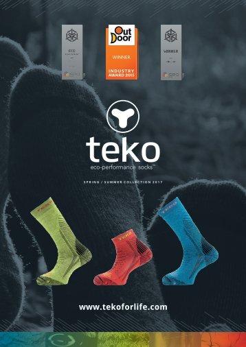 TEKO Dealer Lookbook SS17
