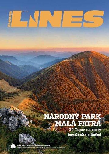 In Drive magazín Slovak LInes 6 2016