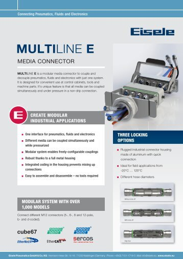 Eisele Flyer MultiLine-E_en