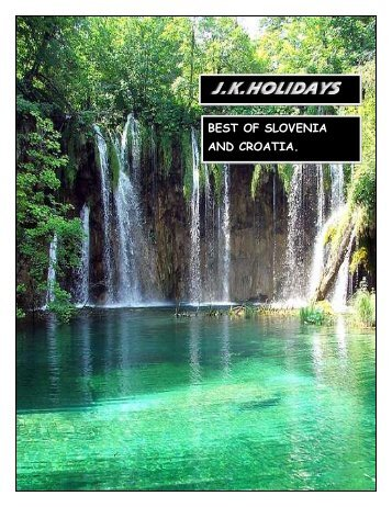 JKH best of slovenia and croatia brochure