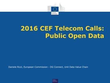 2016 CEF Telecom Calls Public Open Data
