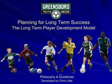 Long Term Player Development Model - Parent Presentation
