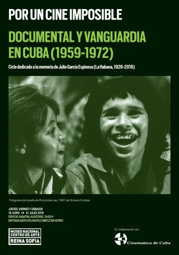 POR UN CINE IMPOSIBLE DOCUMENTAL Y VANGUARDIA EN CUBA (1959-1972)