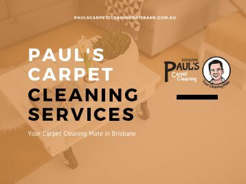 Expert Carpe Cleaning in Brisbane