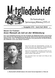 Ausgabe 272 - Juni / Juli 2016