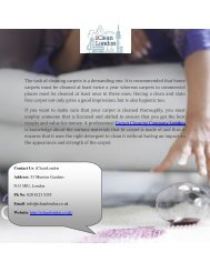Top Cleaning Company in London