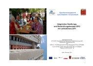 Integriertes Handlungs- und Entwicklungskonzept 2012
