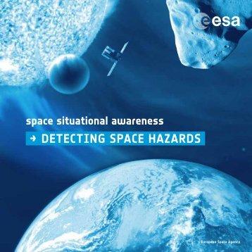 → detecting space hazards