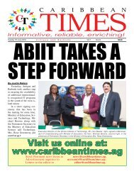 Caribbean Times 24th Issue - Tuesday 7th June 2016
