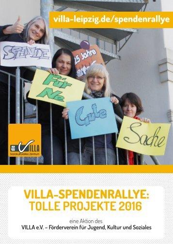 Spendenrallye 2016