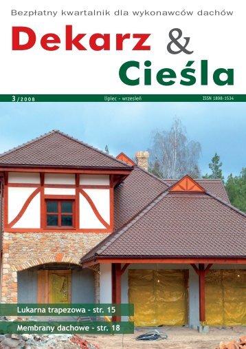 Fachowy Dekarz & Cieśla 3/2008