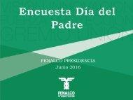 FENALCO PRESIDENCIA Junio 2016