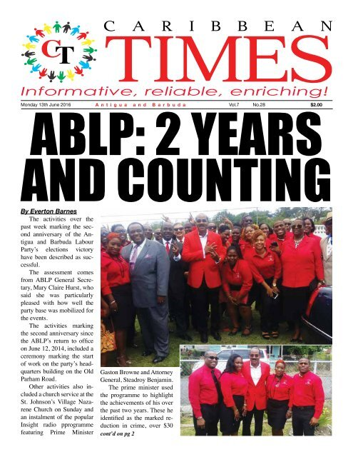 Caribbean Times 28th Issue