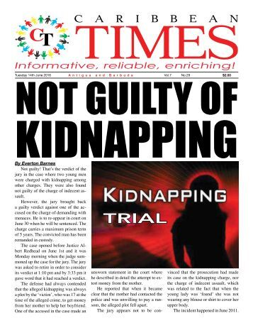 Caribbean Times 29th Issue - Tuesday June 14th 2016